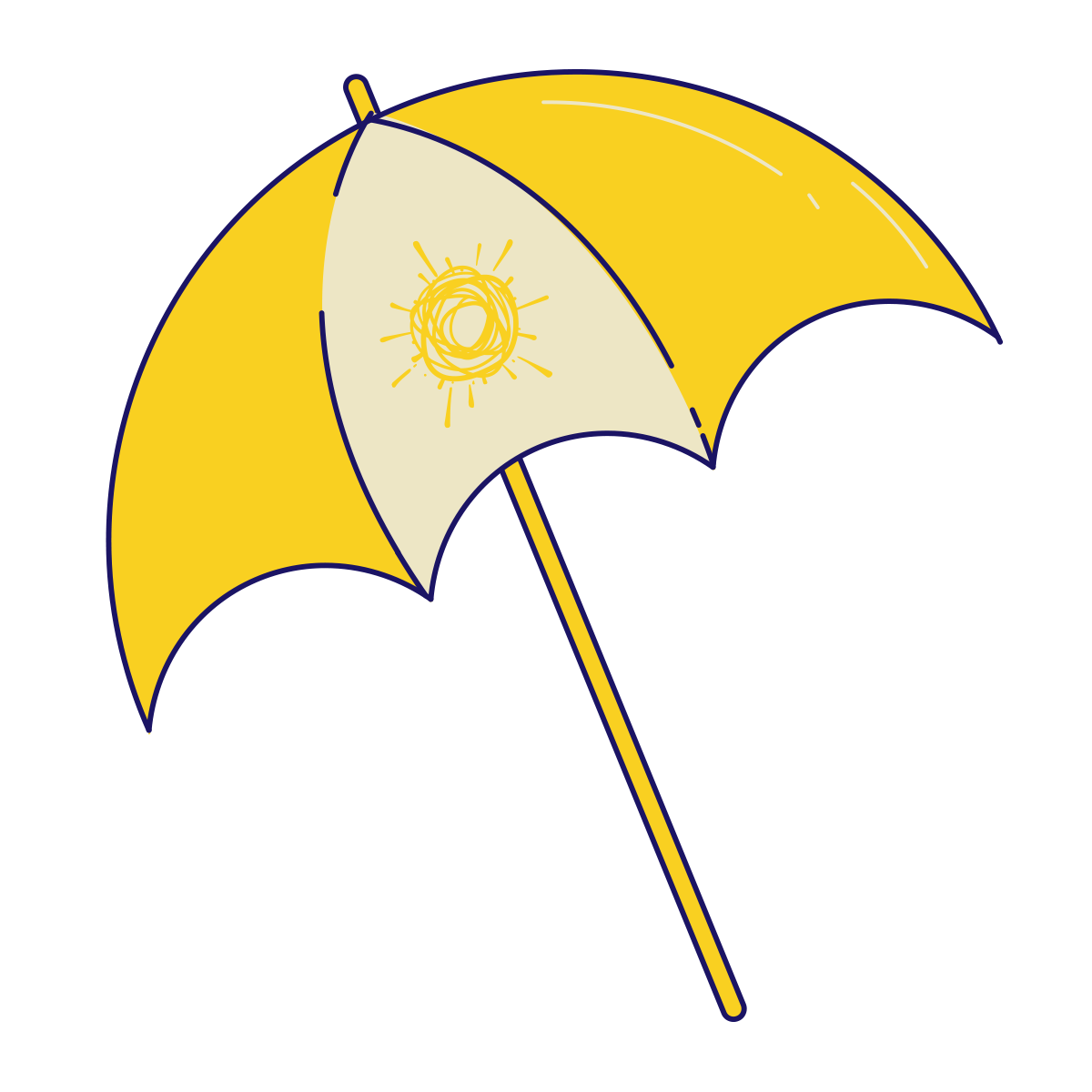 Bdb Illustrations Parasol