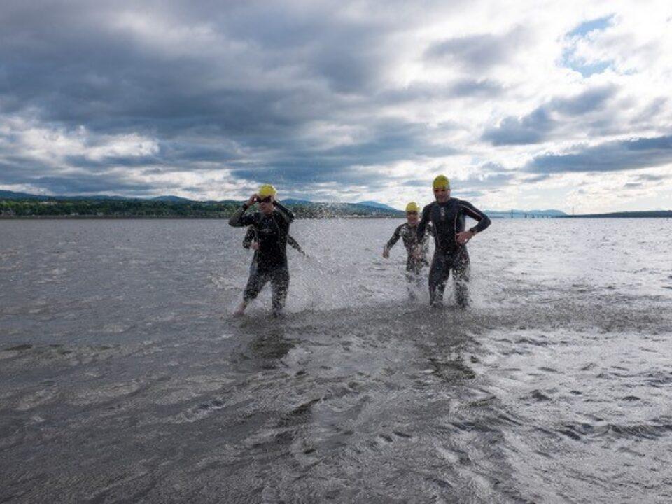 Le Triathlon de Québec débarque à la Baie de Beauport ce dimanche